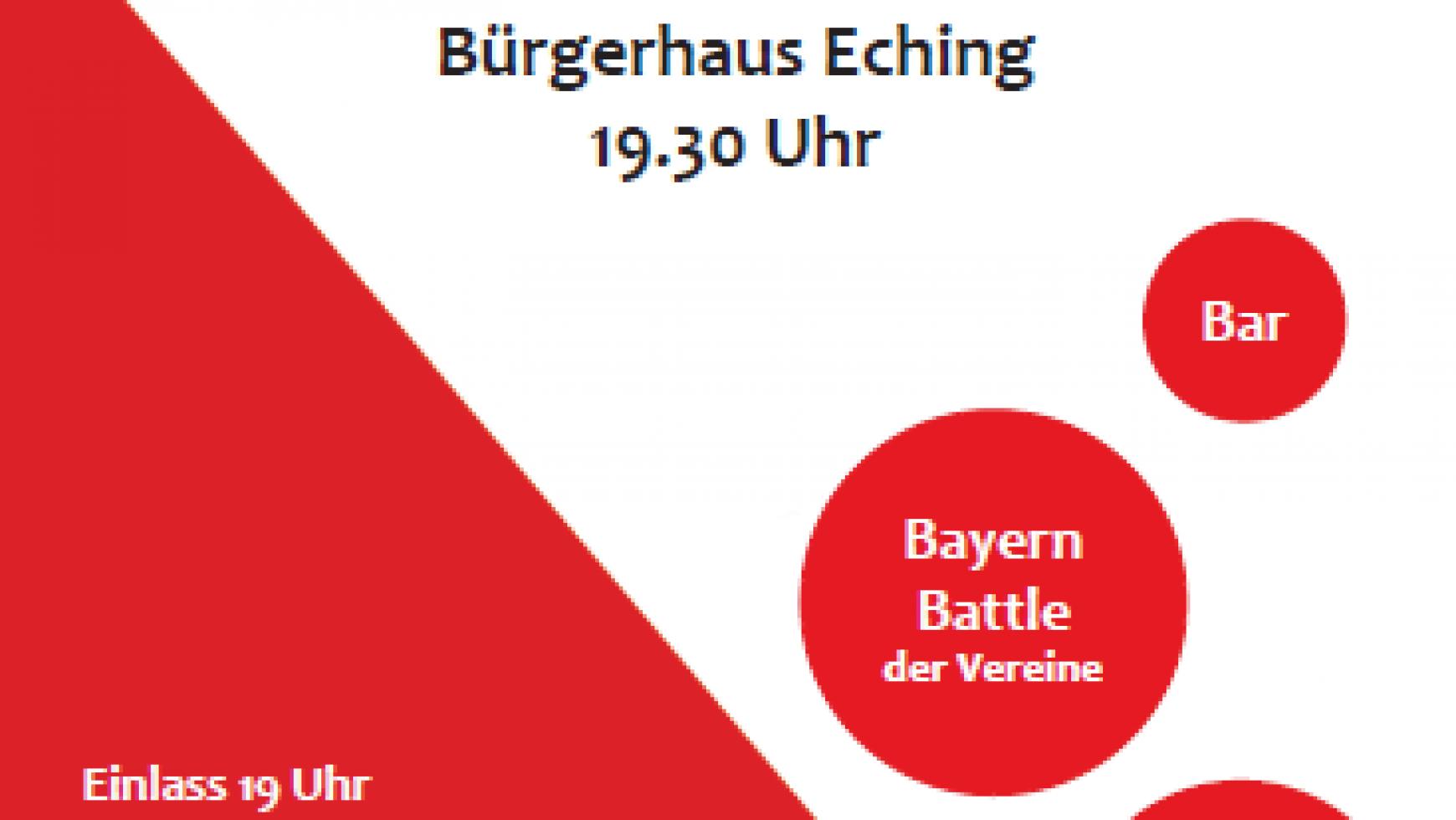 Starkbierfest am 18.März im Bürgerhaus Eching