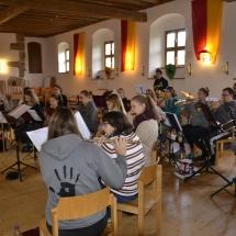 Jugendorchester beim Proben