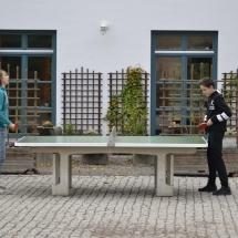 Tischtenis spielen